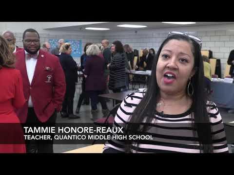 2019 Quantico Middle High School Community Outreach
