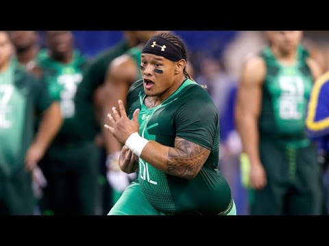 Danny Shelton 2015 NFL Scouting Combine highlights