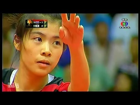 ISTAF Super Series 2013/14 Women's Final [THAILAND - KOREA]