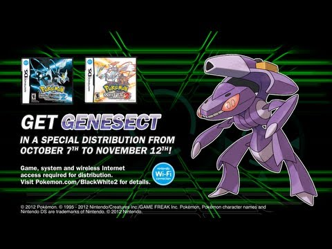 Get the Mythical Pokémon Genesect! - YouTube