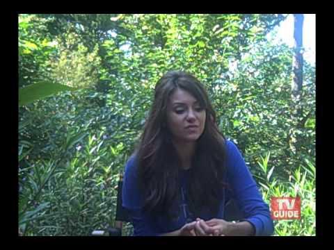 On the set with The Vampire Diaries' Nina Dobrev