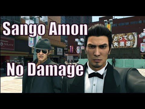 Yakuza Kiwami 2 Secret Boss - Sango Amon (No Damage)