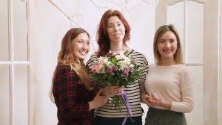Весенняя цветочная фотосессия в студии Идилия для наших свадебных партнеров и их мам!