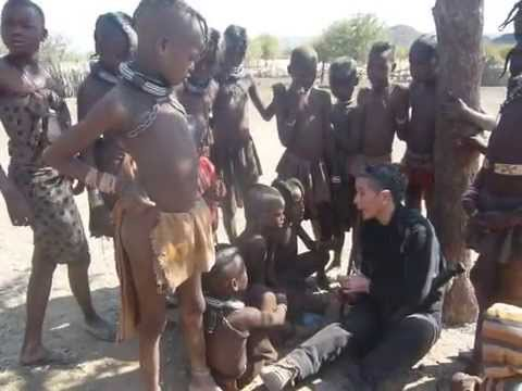 Namibia-Himbas people and music