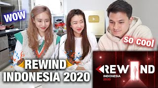 SUNNY, CHRIS & JINI REACT REWIND INDONESIA 2020 | Cinematic, Touching and Amazing Production