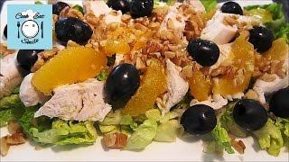 Фитнес салат. Вкусный и полезный. ПП