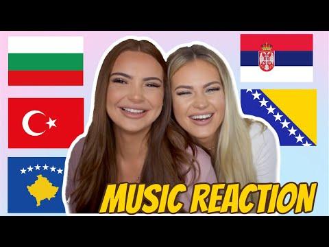 BALKAN MUSIC REACTION   MC Stojan, HAVA, Canbay & Wolker, Capital T, Torino Ft Pashata Ft Pepi