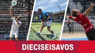 Resumen Dieciseisavos (Mañana) Miércoles Buenos Aires Pádel Master 2018
