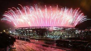 شاهد.. انقطاع الكهرباء أثناء وداع البرازيل لأولمبياد ريو 2016