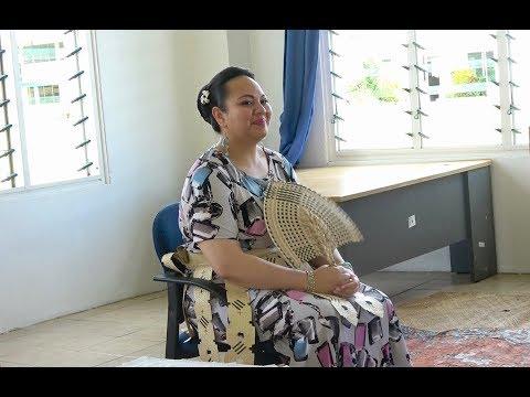 HRH Princess Angelika Lātūfuipeka visits Queen Salote College after Cyclone Gita