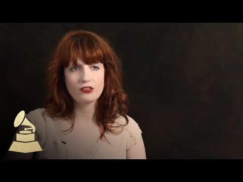 Florence Welch on her songwriting process | GRAMMYs