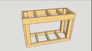 Fish Tank Stand Frame