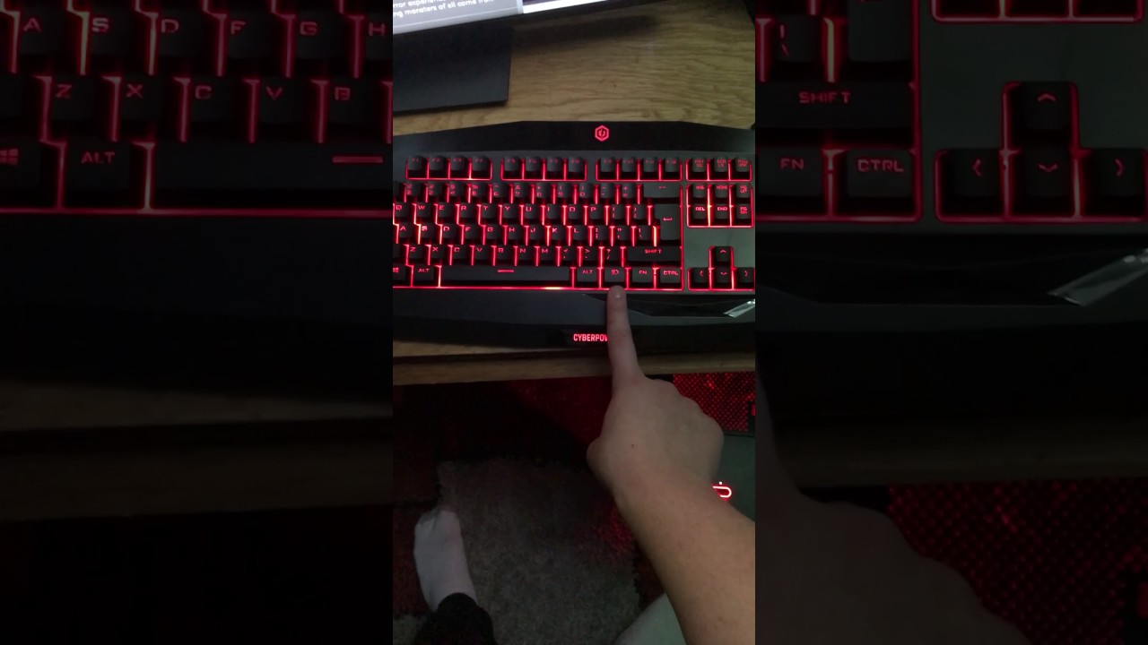 Change The Color On Your Cyberpower Computer And Keyboard