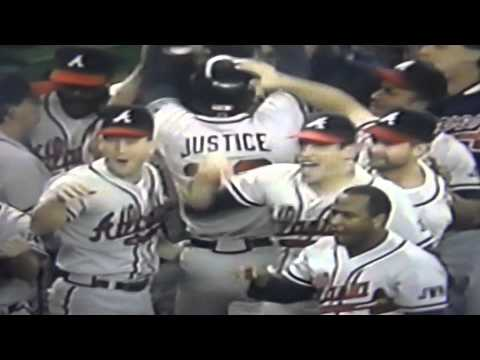 Braves Lead! Braves Lead! Skip Caray Great Call On David Justice