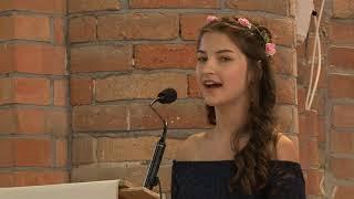 Ślub w głogowskiej Kolegiacie - siostra Panny Młodej śpiewa Halleluja MP3