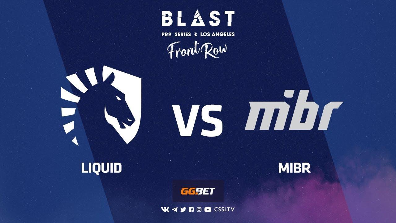 Liquid vs MIBR | Mirage | BLAST Pro Series Los Angeles 2019