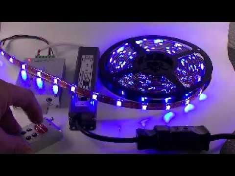 la couleur chez toi ruban led rgb 150 led pour 5m youtube. Black Bedroom Furniture Sets. Home Design Ideas