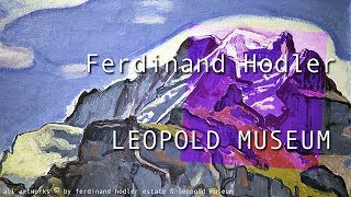 theartVIEw – Ferdinand Hodler at LEOPOLD MUSEUM