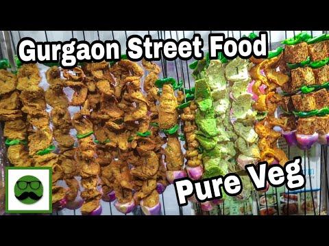 Gurgaon Street Food || Indian Street Food Series || Veggiepaaji