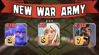5 Healer + 30 Hogs + 10 Bowler = New Th11 War Army | Best Th11 War Attack Style 2018