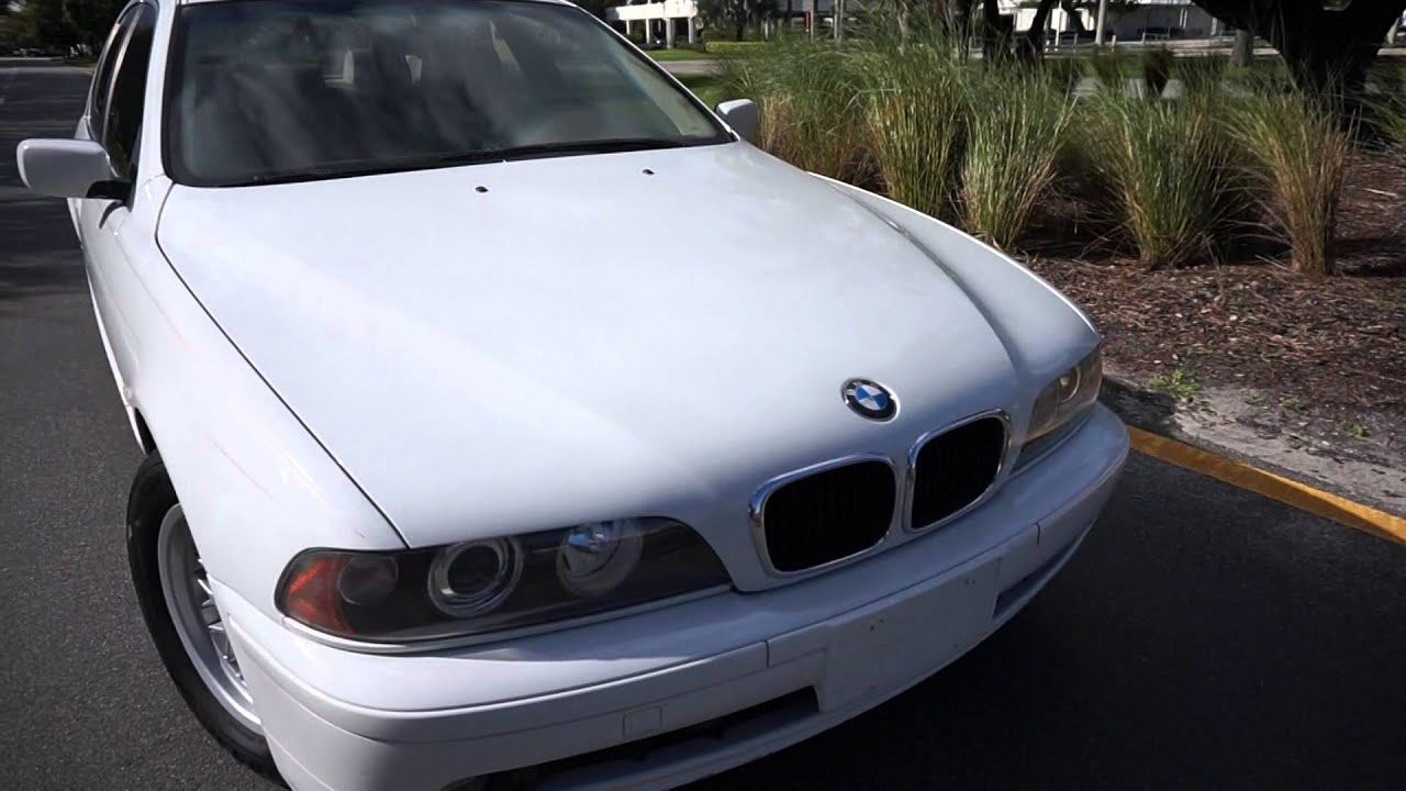 2001 bmw e39 525i alpine white for  clean car - youtube