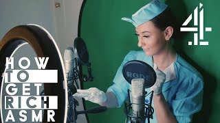 Air Hostess Gives Ultimate ASMR Tingles | How To Get Rich: ASMR