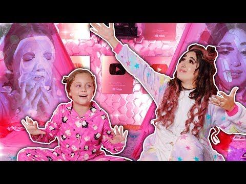 VIDEO: Queen y Estrellita hacen una Pijamada en las oficinas de Badabun