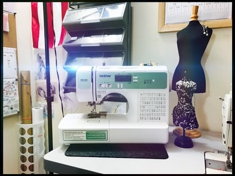 Review The Sewing Machine Brother Xr3240