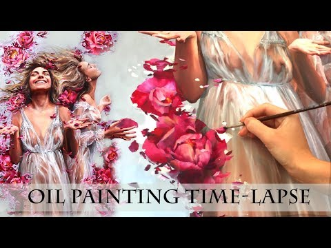 OIL PAINTING TIME LAPSE ||