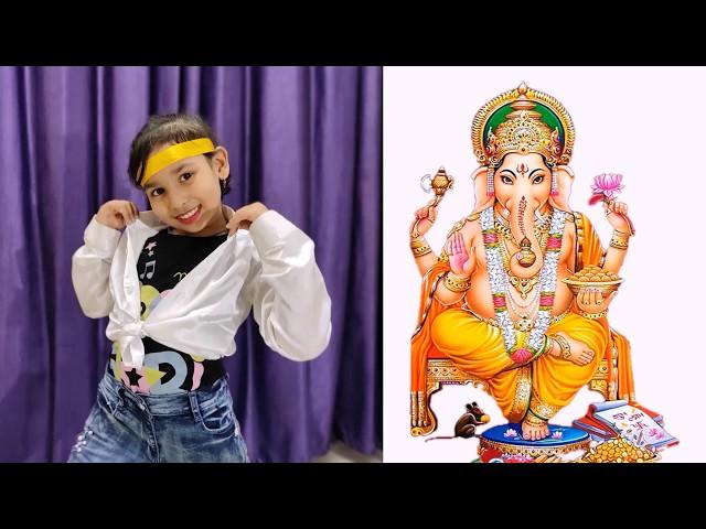 Ganpati Bappa Morya Dance For Kids  / Ganesh Hindi Songs Dance/Ganpati special/Kids/Easy Dance step