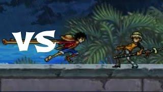 Monkey D. Luffy 2Y Vs Trafalgar Law | Fairy Tail Vs One Piece 1.0 | Q_FVO