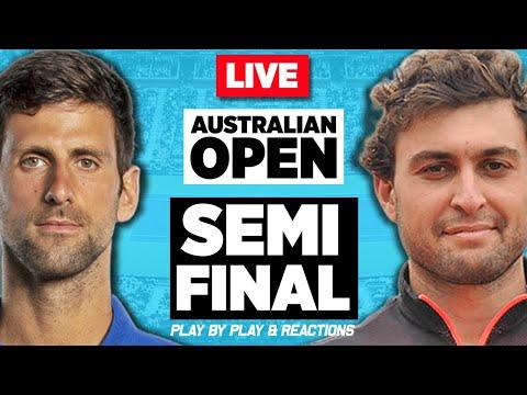 🔴 DJOKOVIC vs KARATSEV | Australian Open 2021 | LIVE Tennis Play-by-Play