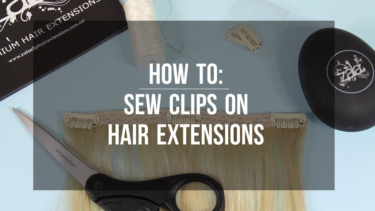 How to sew clips on hair extensions zala hair extensions youtube how to sew clips on hair extensions zala hair extensions pmusecretfo Images