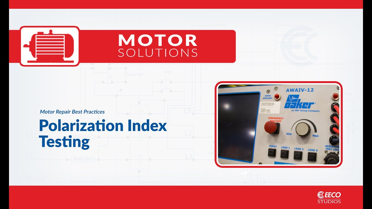 Polarization Index Testing Motor Repair Best Practices Youtube Transimpedance Amplifier Flickr Photo Sharing