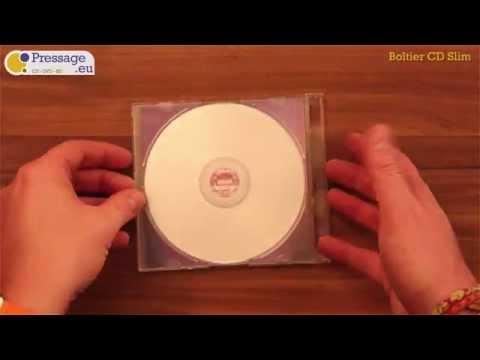 PRESSAGE.EU - Conditionnement : Boîtier CD Slim (5,2mm)