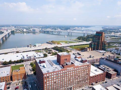 Louisville, KY by drone
