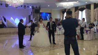 Выход невесты из цветка лотоса Костанай. Впервые в Казахстане, Костанай. Красивая свадьба