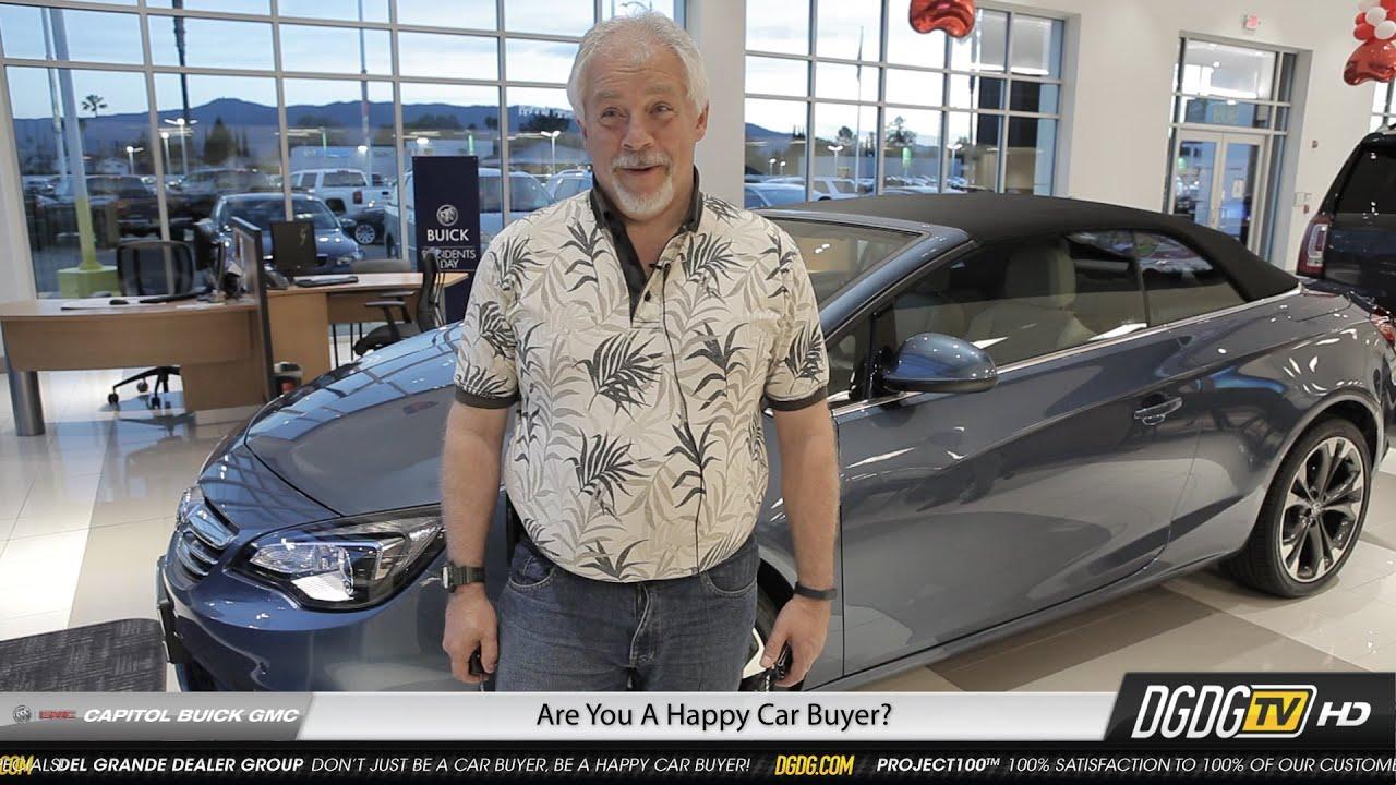 Happy 2016 Buick Cascada Buyer