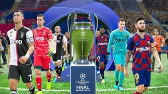 UEFA Champions League Final 2020 - Barcelona vs Juventus