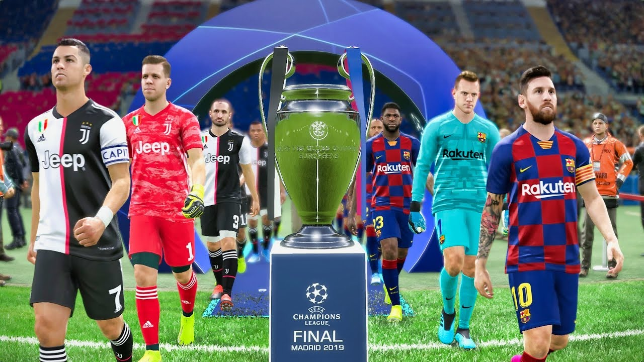 Uefa Champions League Final 2020 Barcelona Vs Juventus