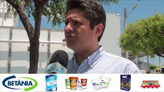 NA ROTA DO LEITE: Bruno Girão recebe secretário Francisco Teixeira no parque industrial da Betânia