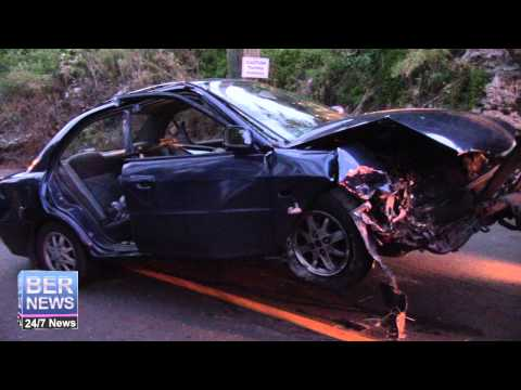 Tow Truck Removes Crashed Car, Aug 22 2015