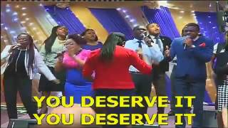 You deserve it by JJ Hairston and Youthful Praise ft Bishop Cortez Vaughn   RCCG JCC Cover