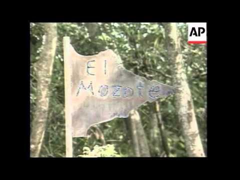 EL SALVADOR: BOOK THAT RECOUNTS EL MOZOTE MASSACRE PUBLISHED
