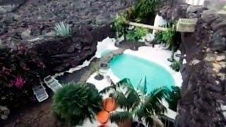 La casa de César Manrique en Tahiche, Lanzarote, Canarias (1977) - El Taro de Tahíche.