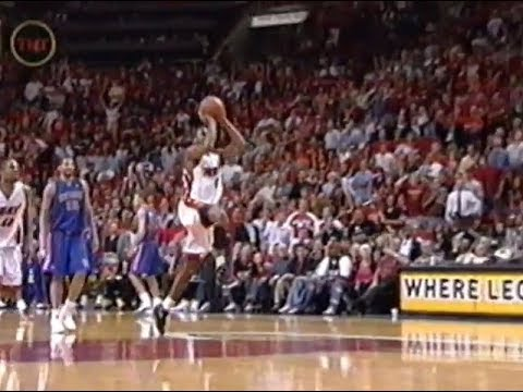 Eddie Jones Drills Game 7 Half-Court Buzzer Beater (2005)