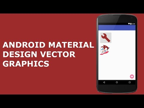 ANDROID MATERIAL DESIGN VECTOR GRAPHICS