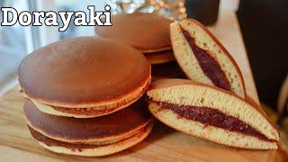 Dorayaki Recipe - Japanese Pancake Street Food  for beginners #japanese#dorayaki#doreamon