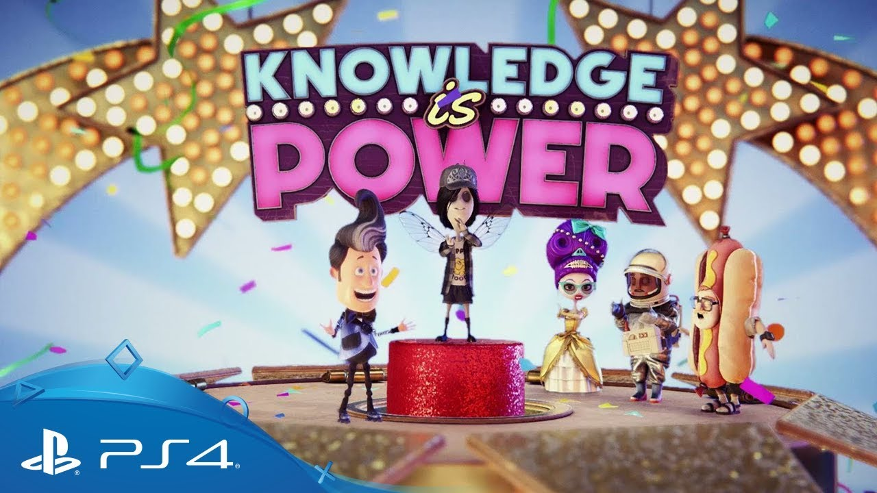 KNOWLEDGE IS POWER | PLAYLINK PARA PS4