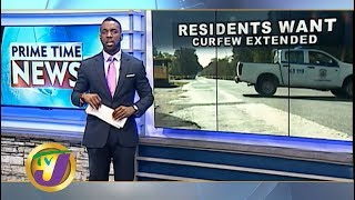 TVJ News Today: St. Catherine Residents Want Curfew Extended - June 25 2019